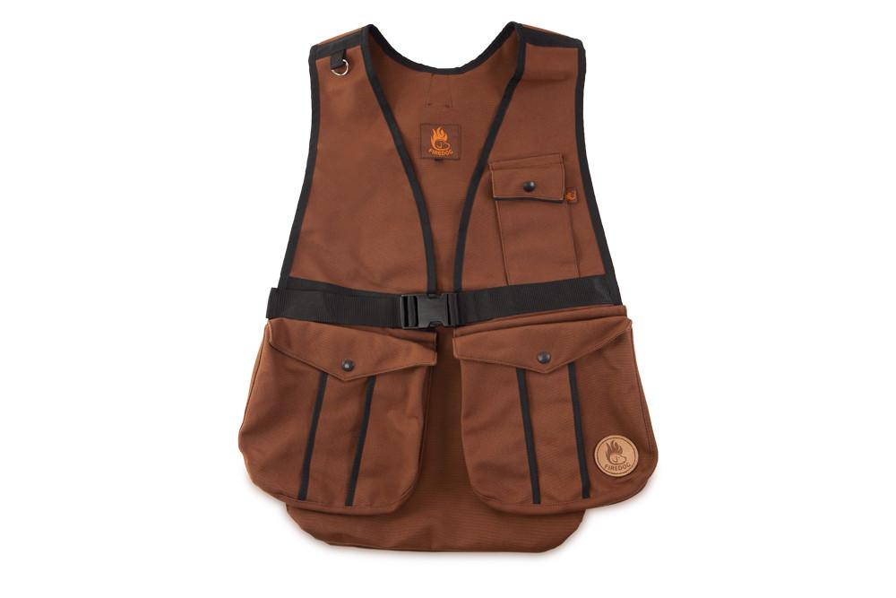 Firedog Dummy Vest Hunter M Canvas Brown Dvh601