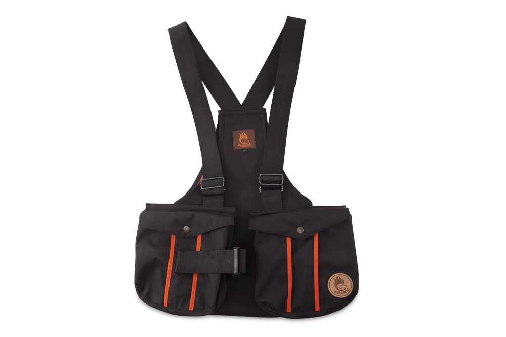 Firedog Dummy Vest Trainer S Black With Plastic Buckle