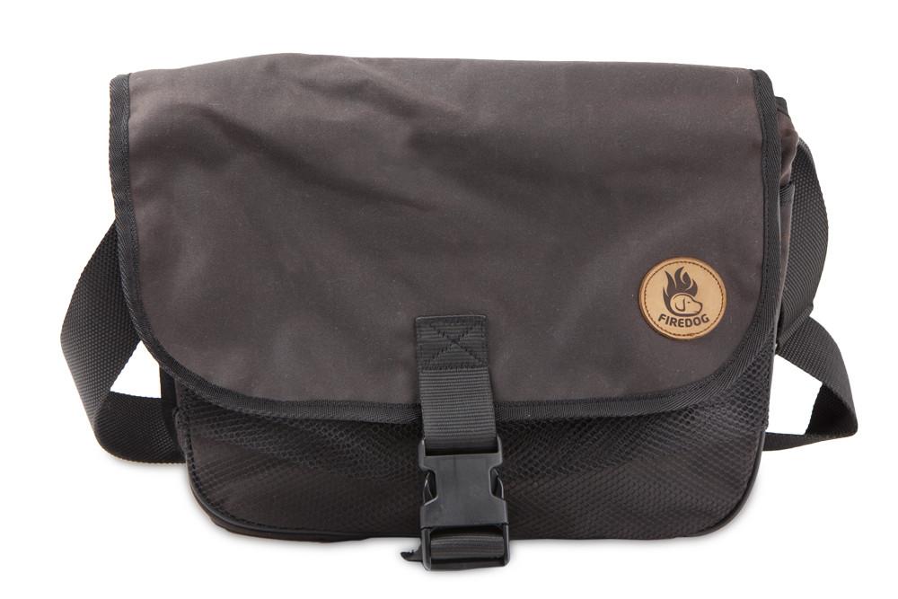 Firedog Waxed Cotton Dummy Bag Profi L Brown Wdbl101