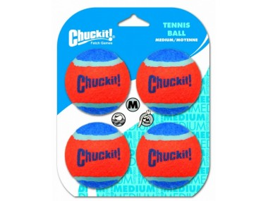Chuckit! Tennis Balls Medium 6,5cm 4ks