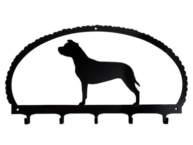 Dog Key Rack American Staffordshire Terrier