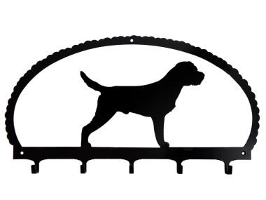 Dog Key Rack Border Terrier
