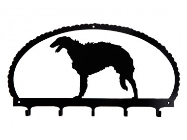 Dog Key Rack Borzoi