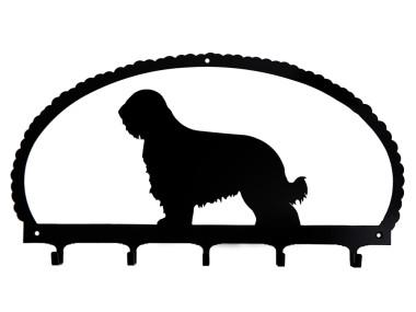 Dog Key Rack Briard
