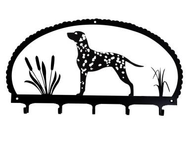 Dog Key Rack Dalmatian