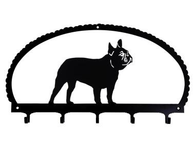 Dog Key Rack French Bulldog