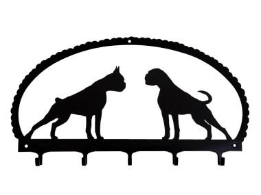 Dog Key Rack German Boxer
