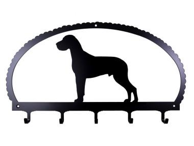 Dog Key Rack Great Dane