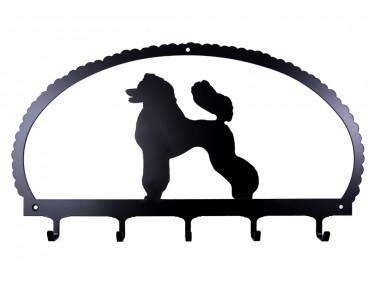 Dog Key Rack Poodle