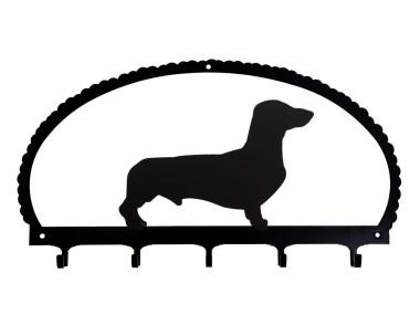 Dog Key Rack Smooth-haired Dachshund