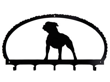 Dog Key Rack Staffordshire Bull Terrier