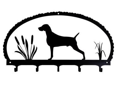 Dog Key Rack Weimaraner