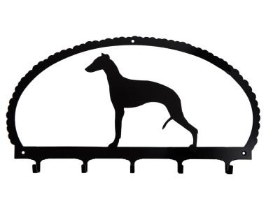 Dog Key Rack Whippet