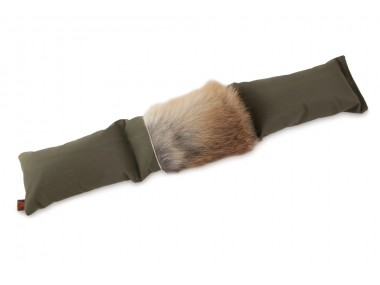 Firedog 3-part dummy 4,0 kg khaki with fox fur