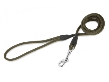 Firedog Classic leash 6 mm 130 cm khaki