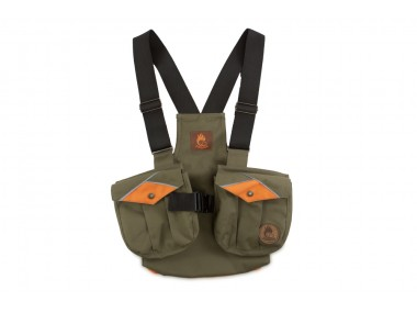 Firedog Dummy vest Trainer for children 140-146 khaki/orange