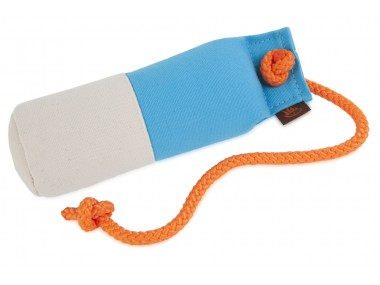 Firedog Long-throw dummy marking 250 g baby blue/white