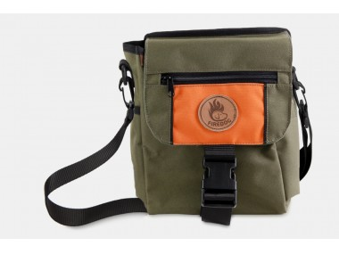 Firedog Mini Dummytasche DeLuxe khaki/orange