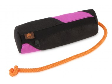 Firedog Snack dummy small black/pink