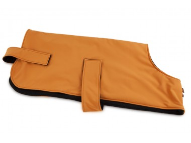 Firedog Softshell-Hundejacke Field Trial orange/schwarz 50 cm XS