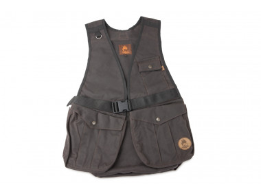 Firedog Waxed cotton Dummy vest Hunter S brown