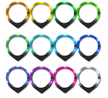 Leuchtie LED collars